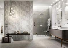 Bathroom tiles: ceramic and porcelain stoneware - Marazzi 6357