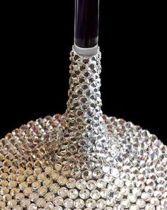 How To Crystallize a Champagne Flute / Wine Glass | Crystal and Glass Beads