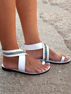 68c90cdc02d Beach Open Toe Flat Sandals Shoes