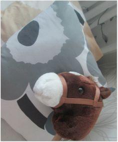 Diy- tyynyt Unikko Pillows from Unikko Marimekko, Slippers, Slipper, Flip Flops