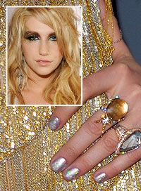 Ke$ha's Nails. #Kesha #Nails
