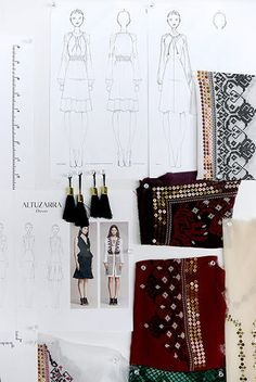Your First Look At Altuzarra For Target Tassels, sequins and embroidery.what more could a woman want? Shop Altuzarra for Target starting September sequins and embroidery.what more could a woman want? Shop Altuzarra for Target starting September Fashion Design Sketchbook, Fashion Design Portfolio, Fashion Illustration Sketches, Fashion Design Drawings, Fashion Sketches, Illustrations, Fashion Line, Fashion Art, Fashion News