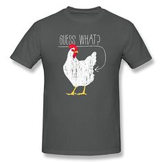 a776c3f43 Chicken Butt Graphic T-Shirt Brown, Brown Funny Chicken, Chicken