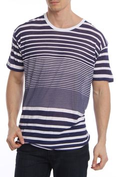 Striped T-Shirt / by American Apparel