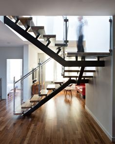 Over in San Francisco, a complete remodel and extension of a single-family home in the Noe Valley neighborhood resulted in a bunch of dynamically lit spaces. Local studio Bach Architecture gave the streamlined dwelling a clear centerpiece in the form of a highly sculptural steel and wood staircase that showers the surrounding spaces with light from a large skylight and inverted corner window. Bespoke light shafts illuminates the bathrooms, highlighting the abundance of locally made ceramic…