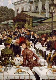 The Artists 'Wives. Tissot James Jacques Joseph (French artist, 1836-1902)