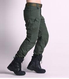 Mens Military Tactical Cargo Pants Outdoor Training Long Trousers at Banggood