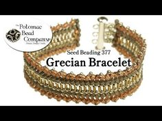 This video tutorial from The Potomac Bead Company shows you how to make a Russian Spiral stitch necklace or bracelet using a wide variety of seed beads. This...
