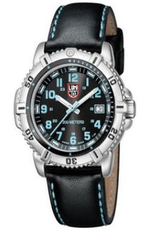 (Limited Supply) Click Image Above: Luminox Womens Steel Colormark Stainless Watch - Black Leather Strap - Black Dial - Modern Jewelry, Fine Jewelry, Tritium Watches, Casio Protrek, Navy Seals, Grey Leather, Breitling, Casio Watch, Watches For Men
