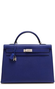 973928d363 40Cm Electric Blue Epsom Leather Sellier Kelly by Heritage Auctions Special  Collections for Preorder on Moda