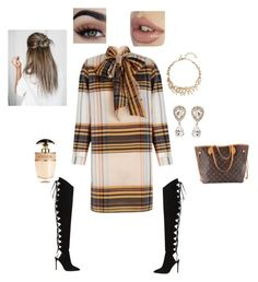 """""""Fall shopping"""" by beane0726 on Polyvore featuring The 2nd Skin Co., Oscar de la Renta, Dolce&Gabbana, Alexandre Vauthier, Prada and Louis Vuitton"""