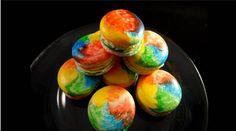 Lovely Rainbow French Macarons - foodista.com
