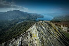 View from the top of Ben A'an towards Loch Katrine. by Johnny Graham on 500px