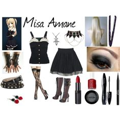 casual cosplay | Casual Cosplay- Misa Amane Death Note
