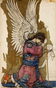 Archangel Michael by Victor Vasnetsov, 1885-1893
