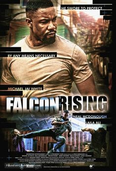 movie poster image for Falcon Rising The image measures 1000 * 1477 pixels and is 445 kilobytes large. Michael Jai White, Posters Amazon, Laila Ali, Martial Arts Movies, By Any Means Necessary, Information Poster, Movie Covers, Original Movie Posters, Fantasy Movies