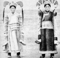 Khulka ladies Mongolia