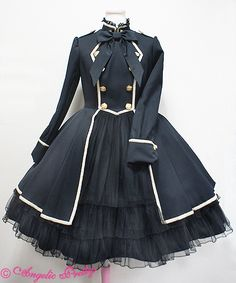 Lolibrary | Angelic Pretty - OP - Elegant Army Doll OP