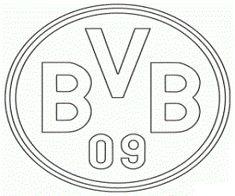 Bvb Logo Zum Ausmalen Social Networking Fimo Pinterest Logos