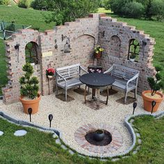 Modern Backyard, Ponds Backyard, Backyard Patio, Backyard Landscaping, Backyard Projects, Outdoor Projects, Garden Projects, Outdoor Decor, Cottage Garden Design