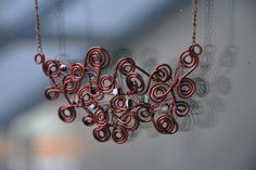 Necklace by DotsAndLines89 on Etsy