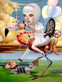 Surrealism and Visionary art: Leslie Ditto