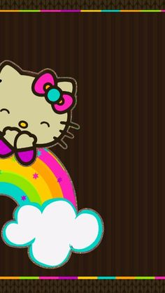 Hello Kitty Backgrounds, Hello Kitty Wallpaper, Iphone Backgrounds, Art Sayings, Art Quotes, Cellphone Wallpaper, Iphone Wallpaper, Keroppi Wallpaper, Hello Kitty Pictures