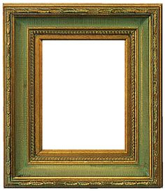 Classic Home Decor Themes That Are Always In Style Vintage Photo Frames, Antique Picture Frames, Antique Frames, Antique Gold, Gold Home Decor, Green Home Decor, Green Picture Frames, Traditional Picture Frames, Boarders And Frames