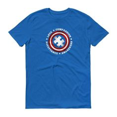 Men's Superhero Captain Autism T-Shirt