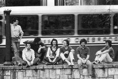 Jóvenes artistas plásticos en la dictadura militar de 1976.