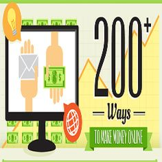 200+ methods to make money online[infographic]