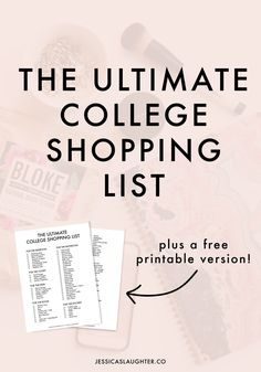 When I left for college my freshman year, I felt pretty clueless about what I would actually need on campus. I forgot about so many things that I made a list for myself with every single item I used throughout the year, and I wanted to share it with y'all! Of course, depending on your… Read More