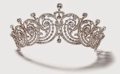 Cartier Essex Tiara. This model was bought in 1902 by the Earl of Essex for his wife, Adele, who was an American heiressThe Royal Order of Sartorial Splendor: Tiara Thursday