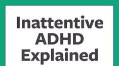 Adult add inattentive