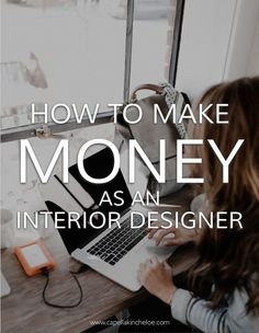 How to Make Money As An Interior Designer You are leaving money on the table in your interior design business and then asking why you aren't making enough and if you should change your pricing model. Interior Design Career, Interior Design Courses, Best Home Interior Design, Interior Decorating, Decorating Tips, Decorating Websites, Simple Interior, Interior Designing, How To Become An Interior Designer