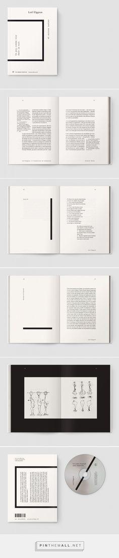 Un peu comme voir dans la nuit | typography / graphic design: Notter + Vigne |