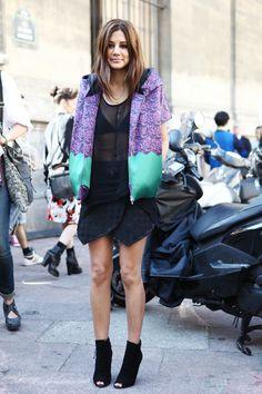 Purple, Black, Sheer