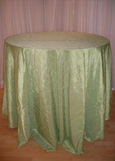 Celery Pintuck linen #texture #green #linen #chairdecor #linenfactory #event #finelinen #tabledecor