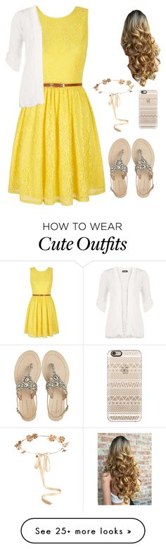 """""""Cute Sunday outfit"""" by crazy-lilly3 on Polyvore featuring Yumi, Antik Batik, Eugenia Kim, Casetify and WearAll"""