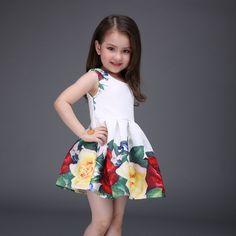 $18.96 (Buy here: https://alitems.com/g/1e8d114494ebda23ff8b16525dc3e8/?i=5&ulp=https%3A%2F%2Fwww.aliexpress.com%2Fitem%2F2016-New-Floral-Print-Baby-Girls-Dress-Black-Rose-Cotton-Kids-Dresses-for-Party-Birthday-kinder%2F32623928663.html ) 2016 New Floral Print Baby Girls Dress Black Rose Cotton Kids Dresses for Party Birthday kinder kleding meisjes for just $18.96