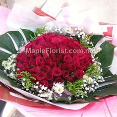 malaysia 99 roses bouquet delivery day flower gifts delivery cheapest 99 roses bouquet