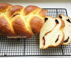FF Cinnamon Plaited Brioche Bread an enriched dough with a sugar/cinnamon centre to each strand. Step by step photographs show you how easy this stunning loaf is to make.