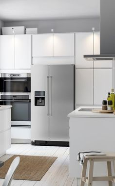 Your dream kitchen? Coming right up! Whether you're into a sleek & modern look or love a traditional feel, you can create the IKEA SEKTION kitchen that fits your style, life and budget.