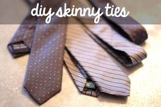 A DIY skinny tie? | 21 Delightful Ways To Make Homemade Holiday Gifts