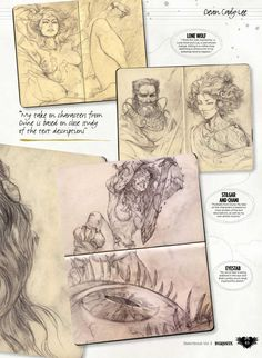 from Sketchbooks vol 3 2016 uk