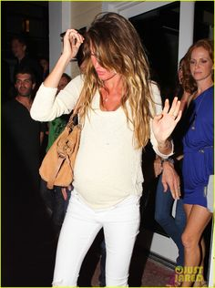 gisele buchen | Gisele Bundchen: Baby Bump in Miami! | Gisele Bundchen, Pregnant ...