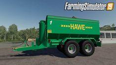 Trailer Hawe ULW 2600 for Farming Simulator 19 Farming