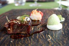 #chefsfriends Kalfswang, krab van de bbq en wasabi, Schilo van Coevorden, restaurant Taiko, Amsterdam.