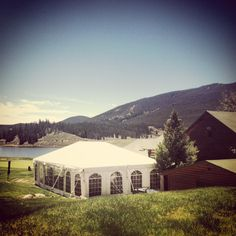 Tent and the Keystone Ranch Restaurant - Keystone, Colorado.