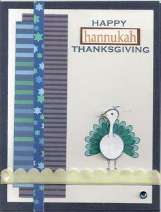 Happy Hannukah Thanksgiving - Scrapbook.com